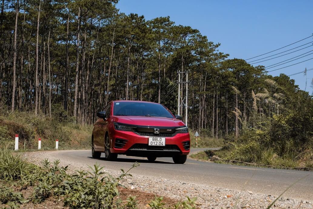 Review xe Honda city - 3