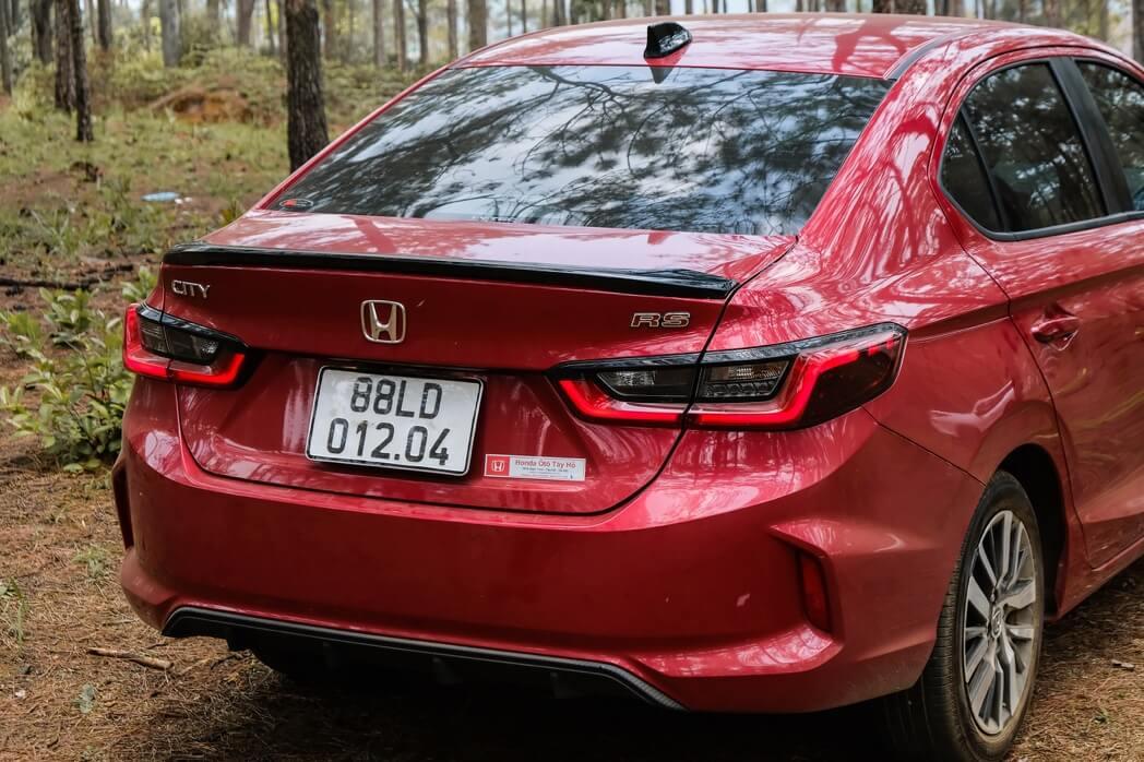 Review xe Honda city - 7