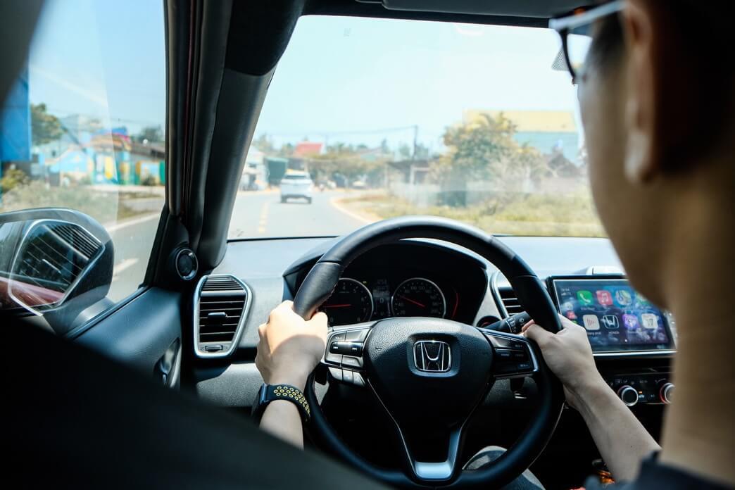 Review xe Honda city - 14