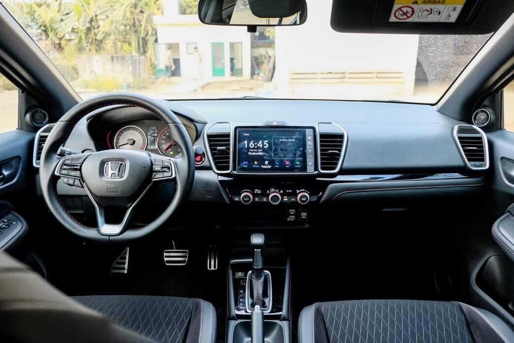 Review xe Honda city - 10
