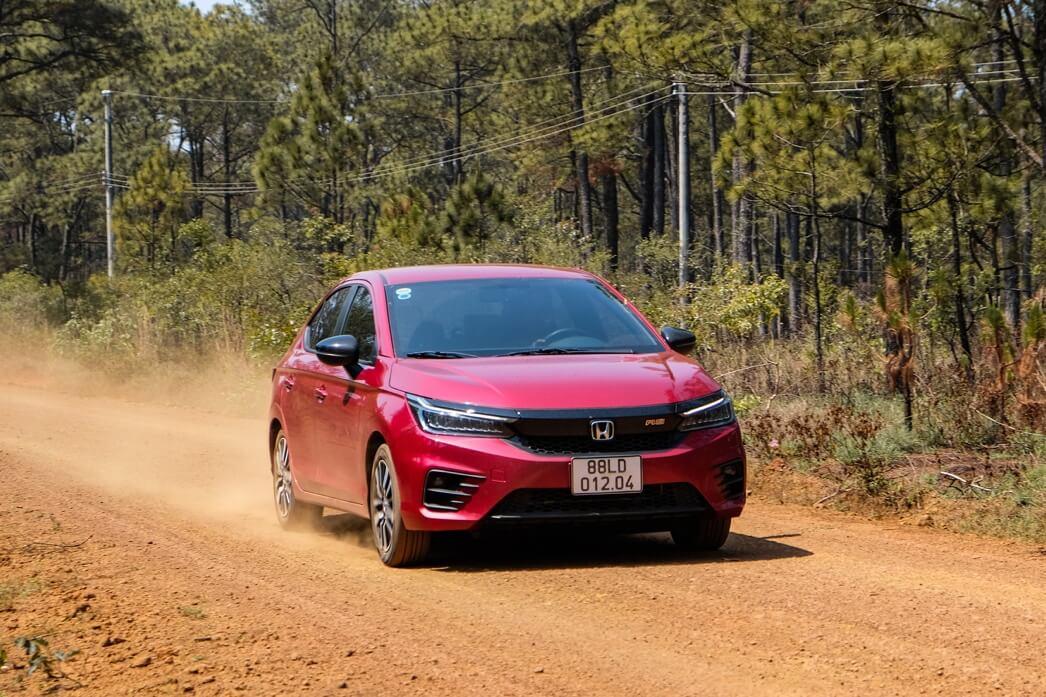 Review xe Honda city - 16